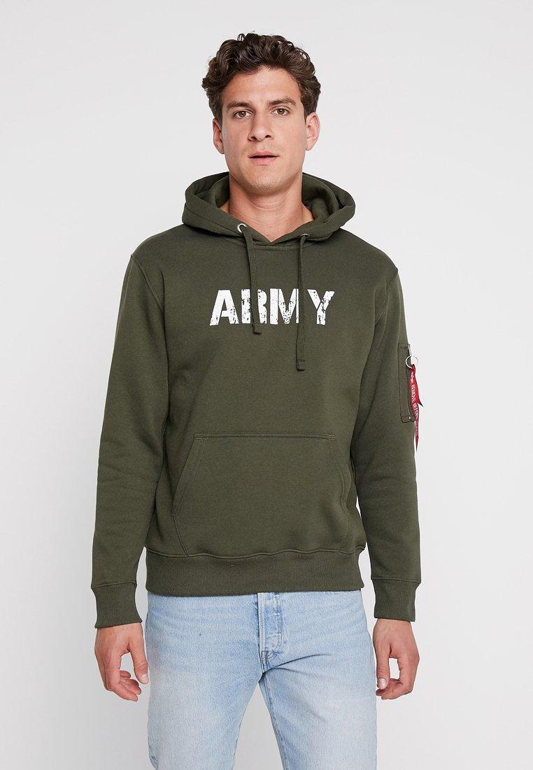 Army Green À Industries Capuche Alpha Dark NavySweat tshdQr