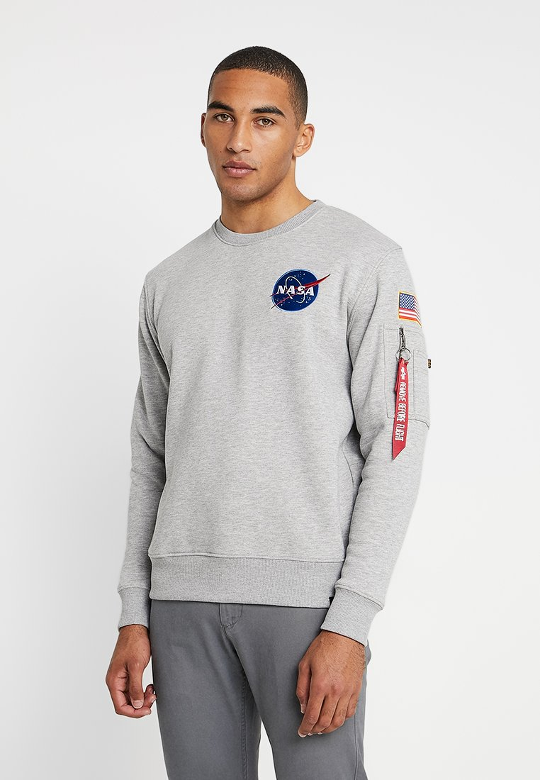 Alpha Industries - Sweater - grey