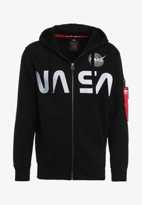 Alpha Industries - NASA ZIP HOODY - veste en sweat zippée - black - 3
