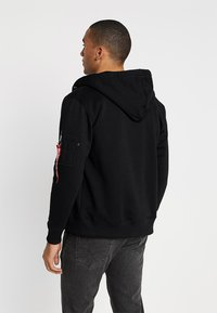 Alpha Industries - NASA ZIP HOODY - veste en sweat zippée - black - 2