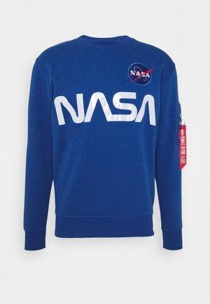 NASA REFLECTIVE SWEATER - Mikina - blue