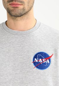 Alpha Industries - NASA - Sweatshirt - greyheather - 3