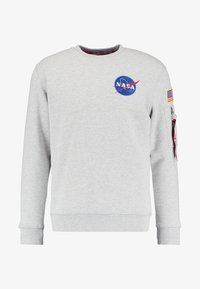 Alpha Industries - NASA - Sweatshirt - greyheather - 5