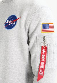 Alpha Industries - NASA - Sweatshirt - greyheather - 4