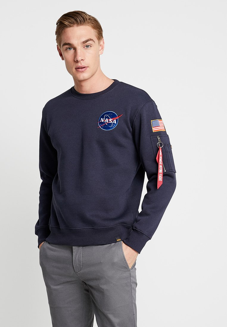 Alpha Industries - NASA - Sweater - blue