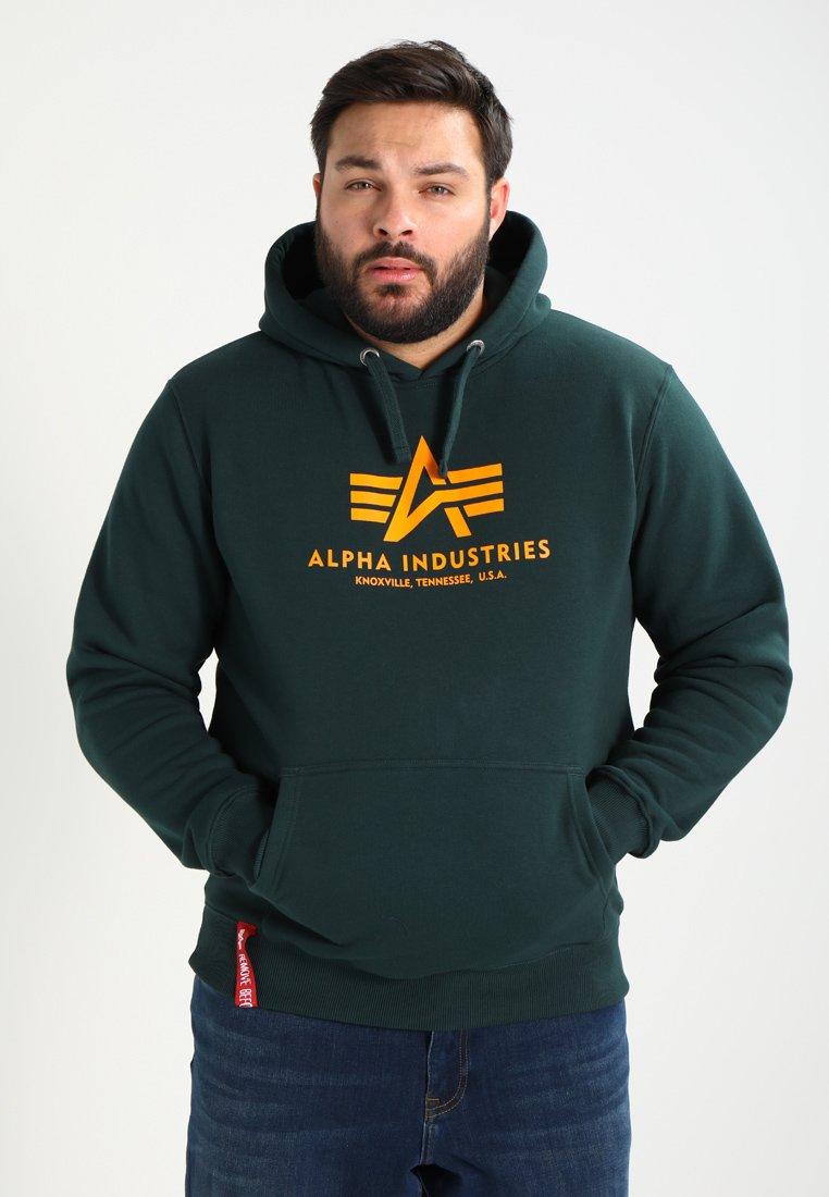 Alpha Industries - Hoodie - dark petrol