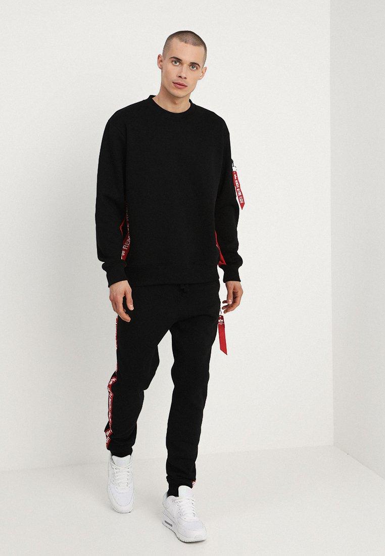 Alpha Industries Inlay Tape - Sweatshirt Black