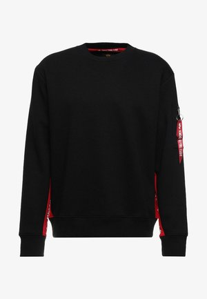 INLAY TAPE - Sweater - black