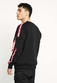 Alpha Industries - TAPEEXCLU - Felpa - black - 2