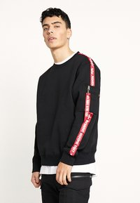Alpha Industries - TAPEEXCLU - Felpa - black - 0