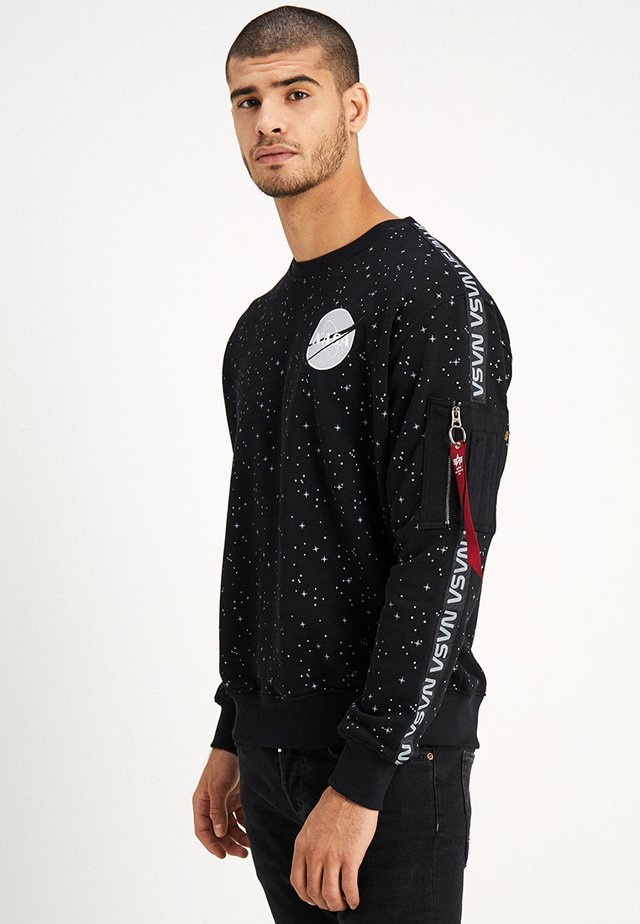 NASA TAPE - Sweatshirt - black