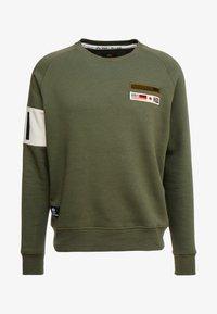 Alpha Industries - Sweatshirt - dark olive - 4