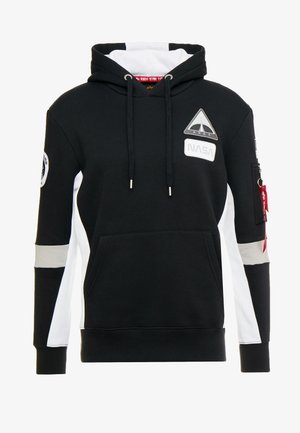 SPACE CAMP HOODY - Sweat à capuche - black