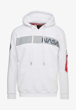 NASA HOODY - Hættetrøjer - white