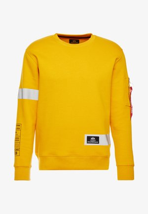 REFLECTIVE STRIPES - Sweatshirt - wheat
