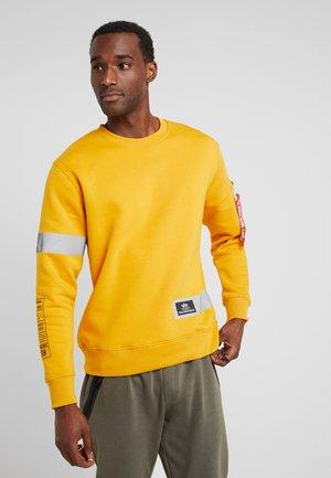 REFLECTIVE STRIPES - Sweatshirt - wheat