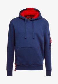 Alpha Industries - HOODY - Luvtröja - new navy - 5