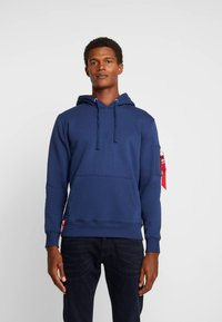 Alpha Industries - HOODY - Luvtröja - new navy - 0