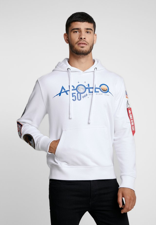 PATCH HOODY  ANNIVERSARY CAPSULE - Jersey con capucha - white