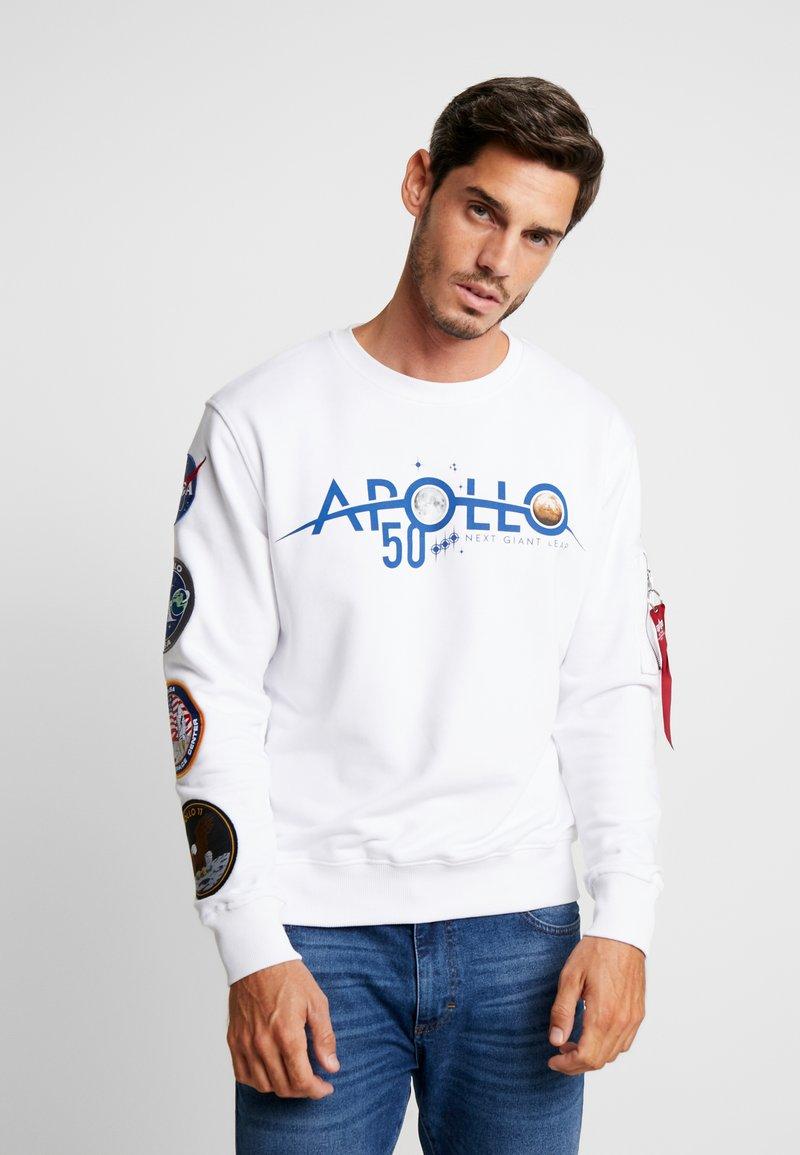 Alpha Industries - PATCH ANNIVERSARY CAPSULE - Sweatshirt - white
