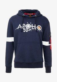 Alpha Industries - REFLECTIVE HOODY ANNIVERSARY CAPSULE - Felpa con cappuccio - blue - 4