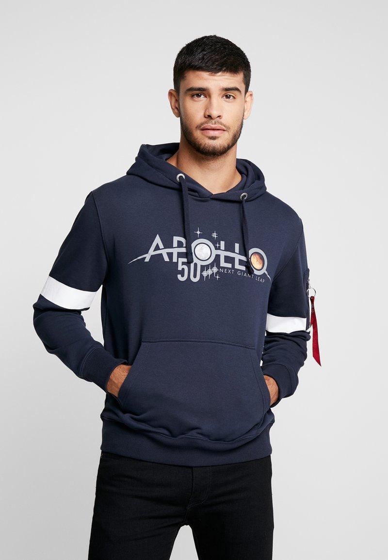 Alpha Industries - REFLECTIVE HOODY ANNIVERSARY CAPSULE - Hoodie - blue