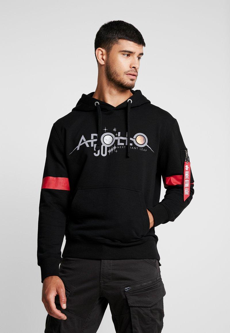 Alpha Industries - REFLECTIVE HOODY ANNIVERSARY CAPSULE - Hoodie - black