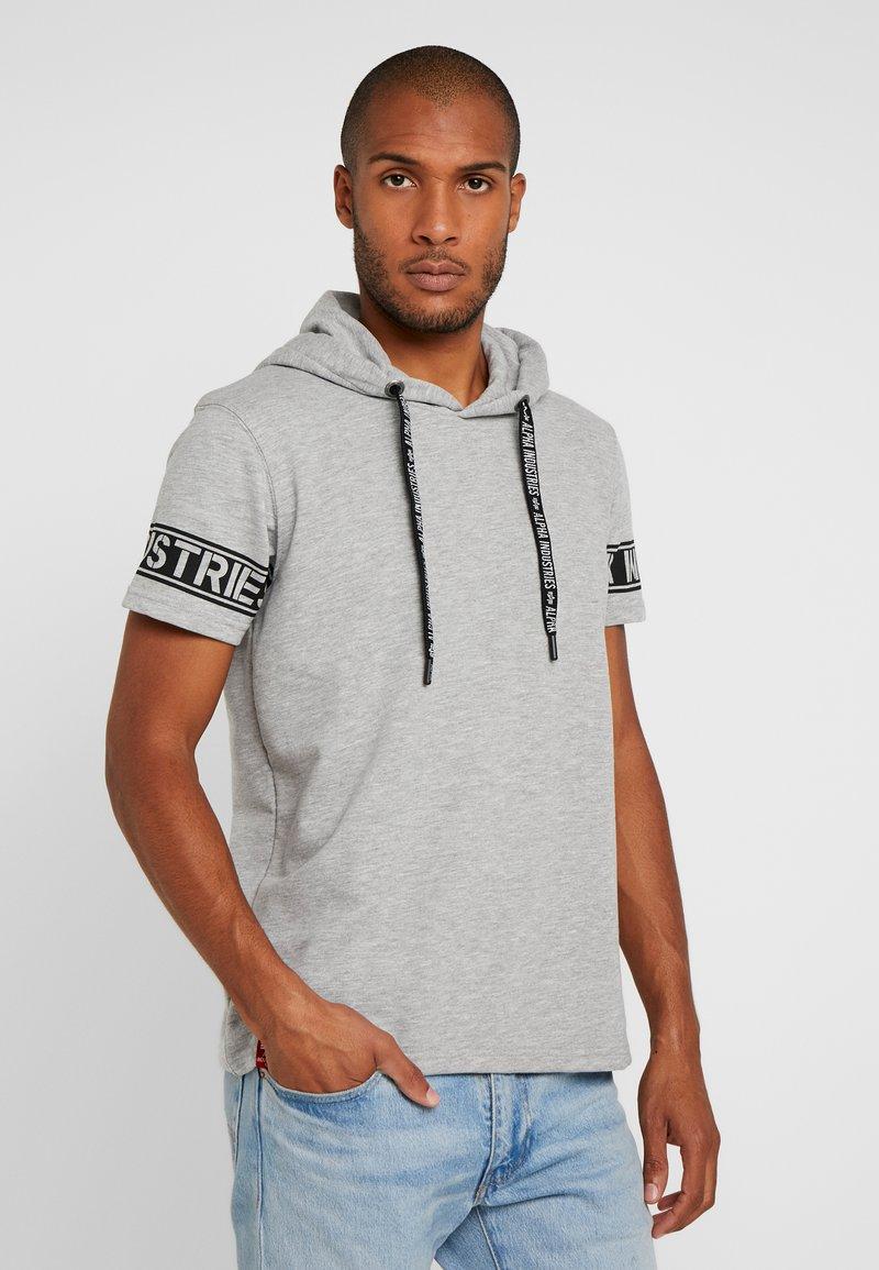 Alpha Industries - Camiseta estampada - grey heather