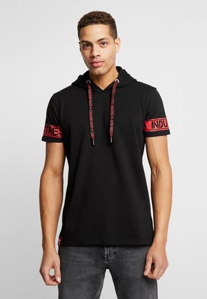 T-shirt imprimé - black/red