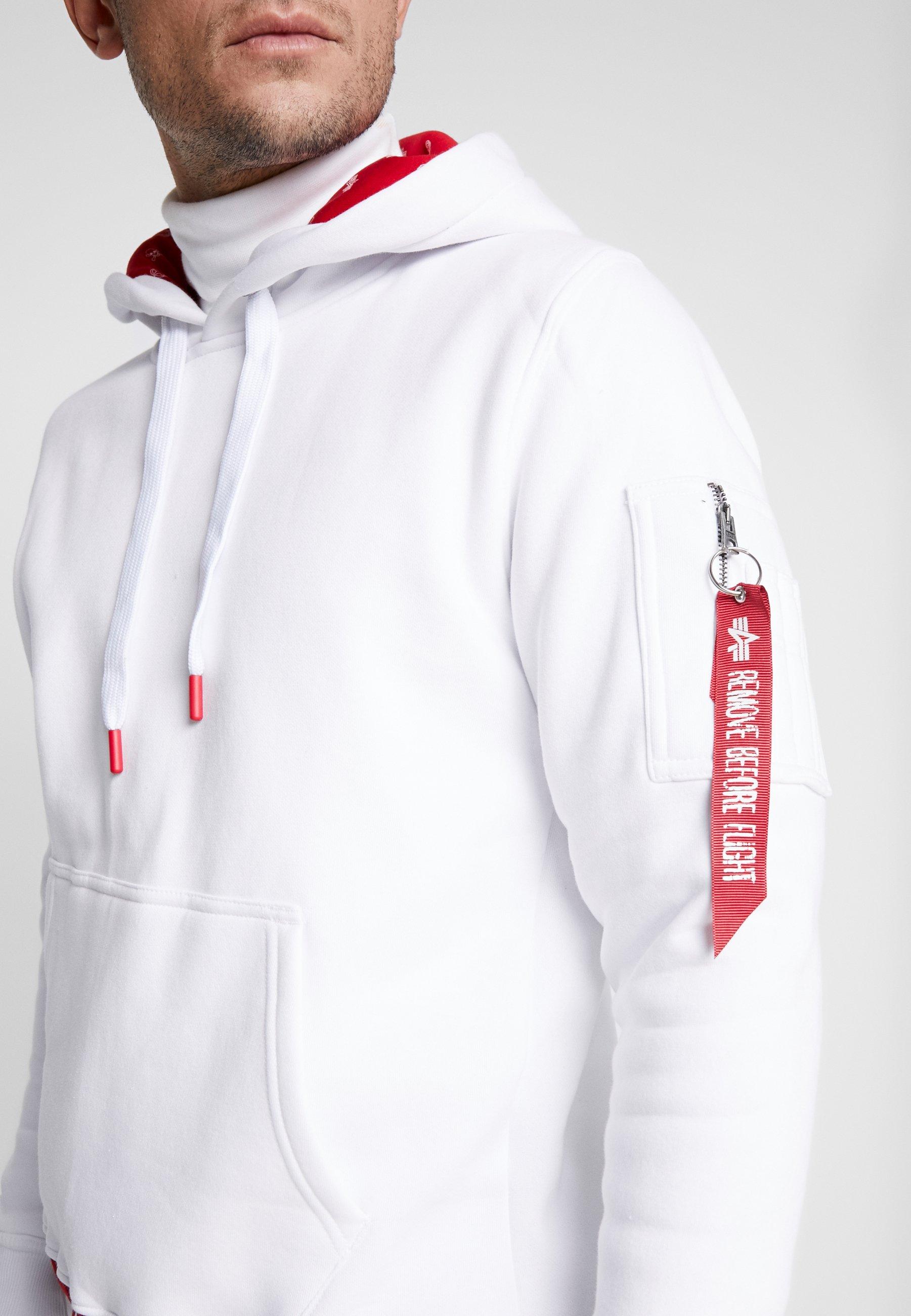 Alpha Industries Luvtröja - White