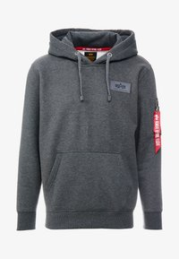 Alpha Industries - Sweat à capuche - charcoal heather - 5