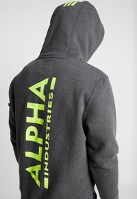 Alpha Industries - Sweat à capuche - charcoal heather - 4