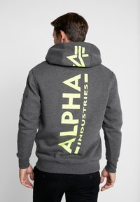 Alpha Industries - Sweat à capuche - charcoal heather - 2