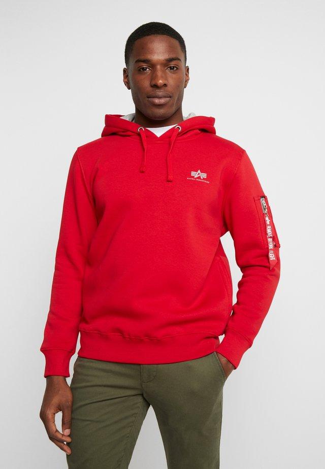 Bluza z kapturem - speed red