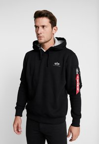 Alpha Industries - Kapuzenpullover - black - 2