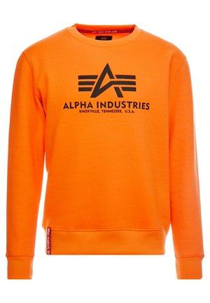 Sweatshirt - neon oragne