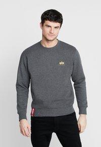 Alpha Industries - 188307 - Sweatshirt - charcoal heather - 0