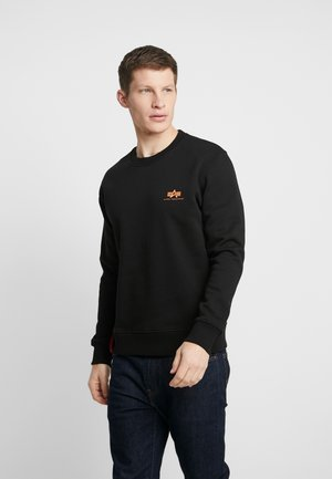 188307 - Sweatshirt - black/neon orange