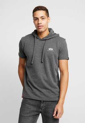 T-shirt con stampa - charcoal heather
