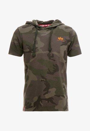 T-shirts med print - dark olive