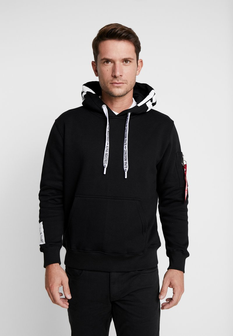Alpha Industries - Kapuzenpullover - black