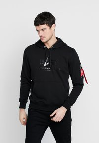 Alpha Industries - Hoodie - black - 0
