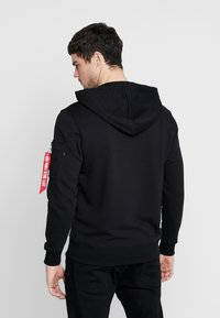 Alpha Industries - Hoodie - black - 2