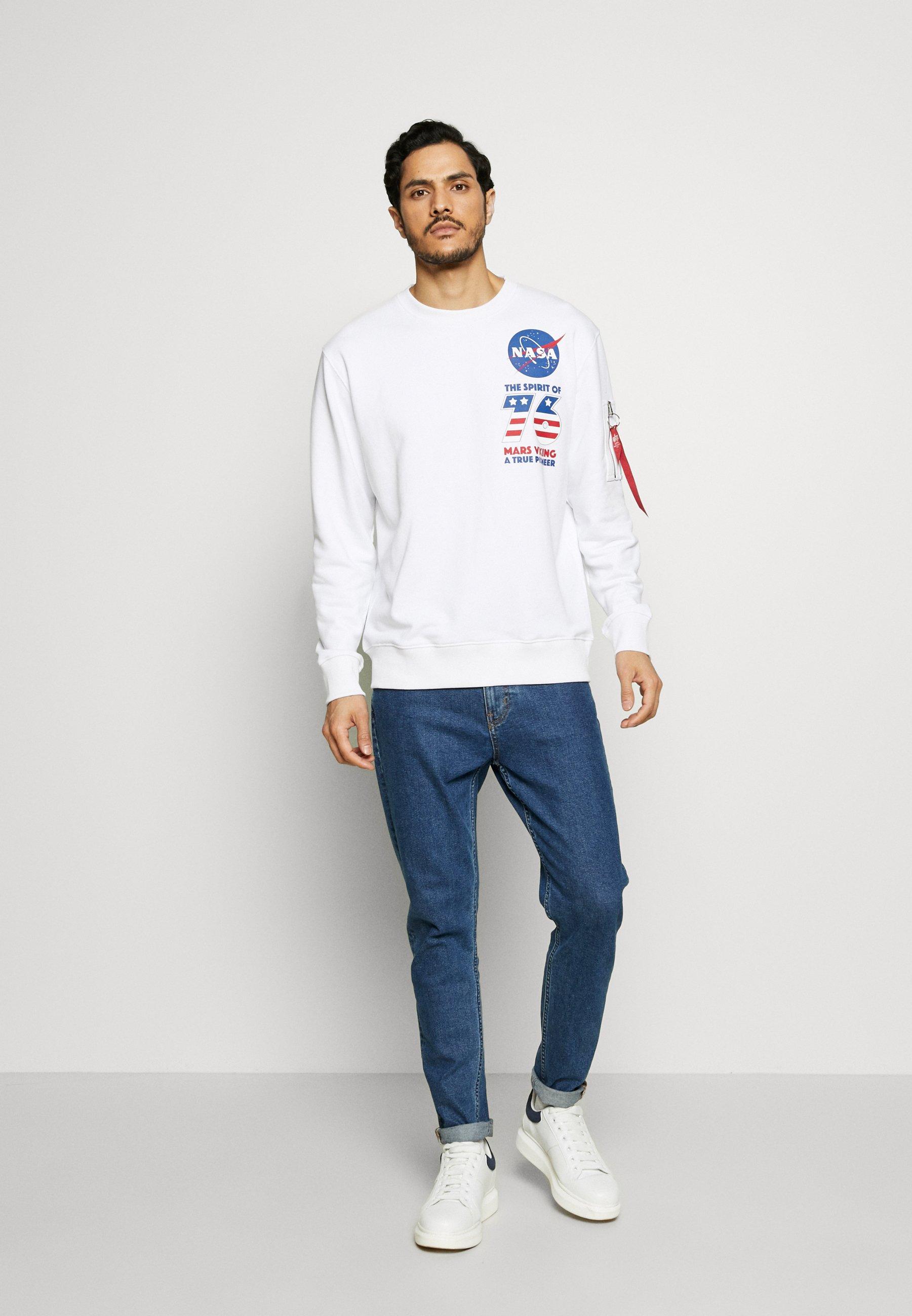 Alpha Industries Sweatshirt - White