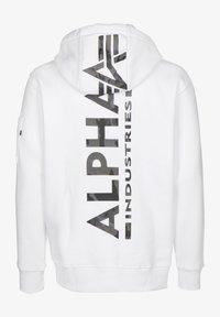Alpha Industries - Bluza z kapturem - white/black camo - 1