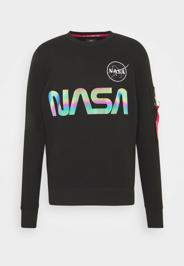 NASA RAINBOW - Sweatshirt - black