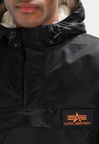 Alpha Industries - ANORAK - Jas - black - 3