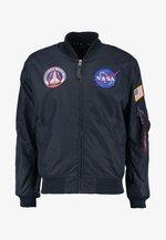 NASA REVERSIBLE II - Bomber Jacket - blue