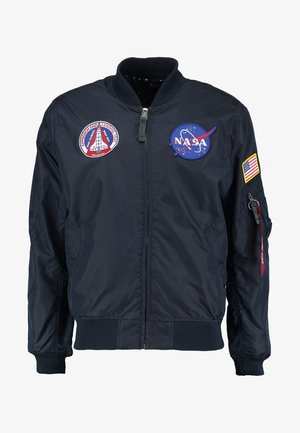 NASA REVERSIBLE II - Bomber Jacket - blue