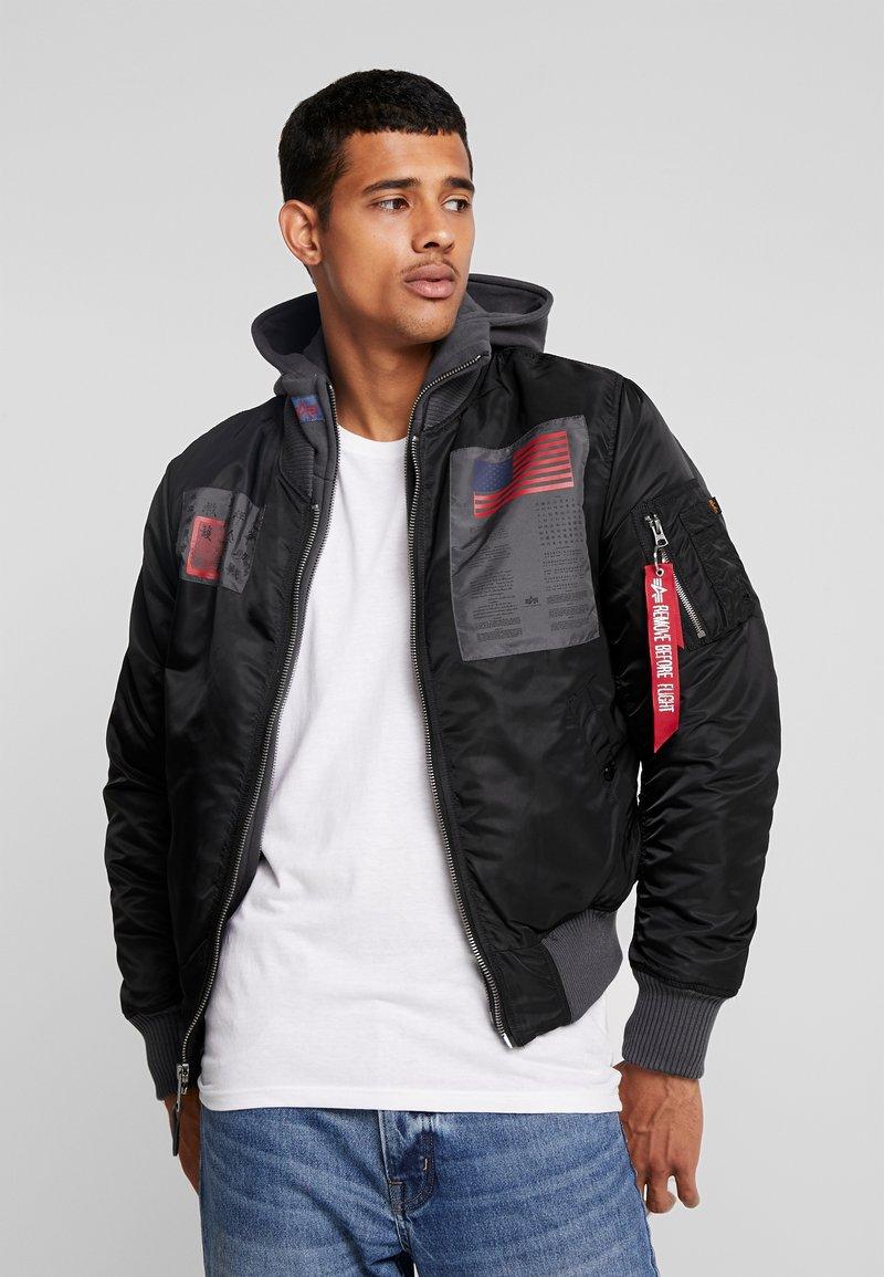 Alpha Industries - BLOOD CHIT - Light jacket - black